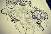 Henna Zeichnungen