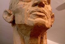 Clay Head Art / A section of pins, revolving around pictures and information on clay heads and creations of clay heads.