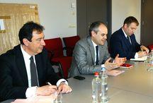 Flaman Kültür Medya ve Gençlik Bakanı Sven Gatz ile görüşme