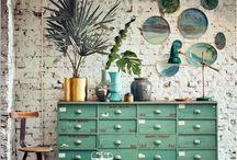 lOve green decor