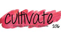 2016 One Little Word: Cultivate