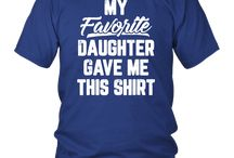 My Favorite Daughter Gave Me This Shirt Father's Day TShirt