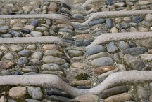 Landscape ☆ Rain Catchers / Rain chains, Rills and water flow direction stuff. / by Jenaria's Realm