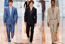 Versace uomo / Versace collezione e catalogo primavera estate e autunno inverno abiti abbigliamento accessori scarpe borse sfilata uomo.