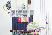 Island Paradise: Scrapbook Circle August 2014 Kit / by Scrapbook Circle
