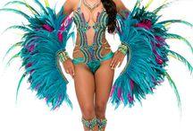 Samba costumes