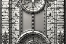 Gothic elements (Готические элементы) / Элементы готического стиля