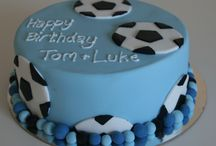 Pops birthday cake ideas / Football theme