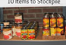 Pantry Stockpile Ideas