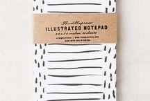 Fancy Notepads