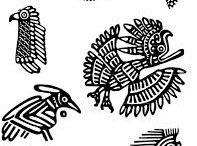 Vulture Tattoo Maya