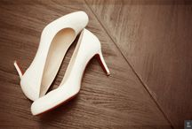 Big Day Shoes Inspiration / Our client's wedding shoes
