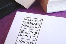 lettering envelopes &mail art