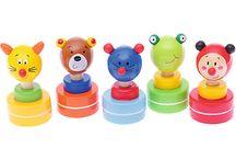 Drewniane zabawki i upominki dla najmłodszych