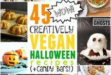 vegan halloween