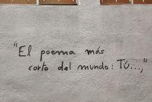 Poetes de Carrer / Quan estàs caminant i mires una paret... trobes mil missatges, gent que transmet!