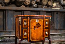 Fine European Antique Chests & Commodes / high end antique case pieces from Masterpiece Antiques...