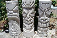 Hawiian Tiki Art