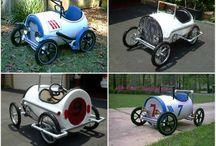 Autos a pedales