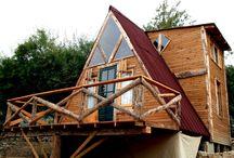 Shanti garden kaş üçgen ev / Üçgen