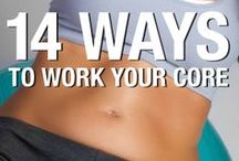 How is working your abs