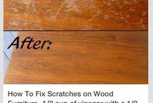 krapplekke op hout
