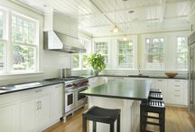 Kitchens and Beadboard ceilings
