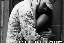 Vrouw van militair