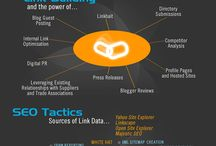 SEO Tools and A Bunch of Infographics / SEO