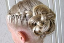 Hairstyles and shoes for tumbling
