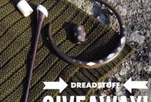 Dreadlocks giveaway! / Check out all of our diffrent giveaways that we offer at http://www.dreadstuff.com