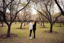 Prebodas / Sesiones fotográficas con novios antes de la boda