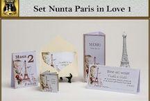 Set nunta Paris în love 1