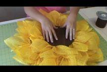 Декоративные Венки / как сделать красивые венки к праздникам