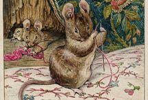 мультгерои мышки мышата мыши