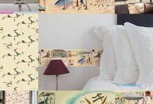 Colección I Grow-  Eva Montanari / Cenefas Autoadhesivas con motivos inspirados en Pinocho realizados por Eva Montanari.