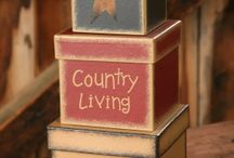 Finds for Your Primitive Shop / If your shop is primitively charming, consider these country decor items and ideas.