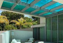 Arquitetura área externa / Área externa