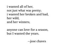 Jose Chaves Poetry