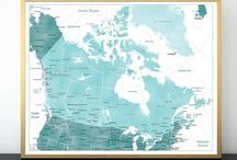 ~ Maps of Canada ~