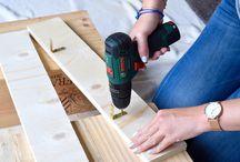 DIY hout interieur
