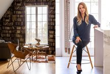 Northern Exposure: Lonny Magazine December 2014/ January 2015 / Designer Tamara Kaye-Honey creates a family-focused retreat that marries her cozy Canadian upbringing with her laid-back California lifestyle