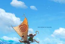 Moana / Disney's Moana is hitting theaters November 23rd, 2016! Are you ready to set sail?