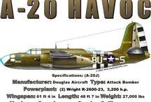 Douglas DB-7 (A-20 Havoc, P-70)