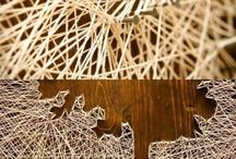 wall decor string art