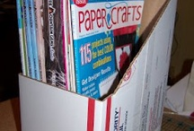 papers and cardboards