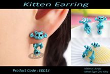 Cute Kitten Earring / #WearDifferent #FeelDifferent #LookHatke Buy Hatke Products from anywhere in India now.. Coz we deliver it right to ur doorstep. Interested buyers can send us a ping for details on price and other stuff or you could just inbox us your number for us to get in touch with you.. Visit our FB page for more details.