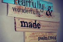 Scripture Inspiration / Printables and home art using scripture. / by Jacqui Hodges