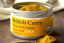 TTS Co. - British Curry / A proper 19th Century British curry had both curry powder and curry paste as ingredients.  We have combined these elements into a single blend for classic flavor. Use it by itself or combine with a bit of vinegar to add acidity, British Curry can create a traditional saucy dish or be added to any simmered, stewed or grilled meat, tofu or vegetable dish. For more British Curry recipes, Click Here.
