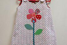 Homemade girls clothes